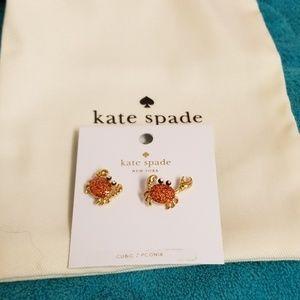 Sale: Kate Spade Shore thing Crab Earrings